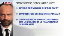 Réforme des retraites : le courrier d'Edouard Philippe aux syndicats