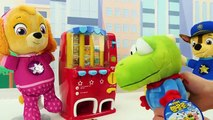 Paw Patrol Skye and Chase Cooking Contest Toy Food Video for Kids-