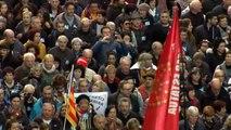 Masiva manifestación en Bilbao en apoyo al acercamiento de los presos de ETA a cárceles vascas