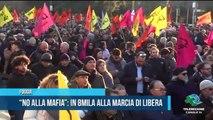 """""""No alla mafia"""" in 8mila alla marcia di Libera - TELEREGIONE"""