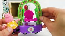 Peppa Pig Toy Zoo Animal Learning Video for Kids-