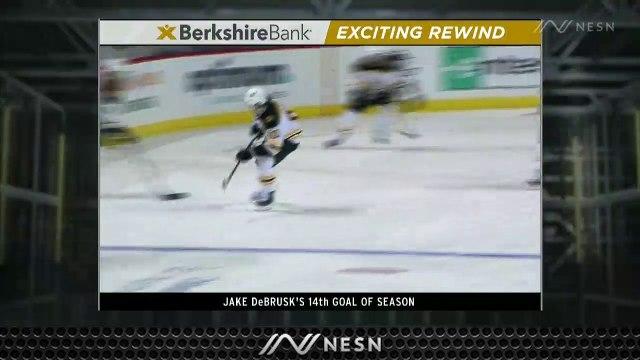 Jake DeBrusk Knots Score Vs. Islanders With Slick 14th Goal Of Season
