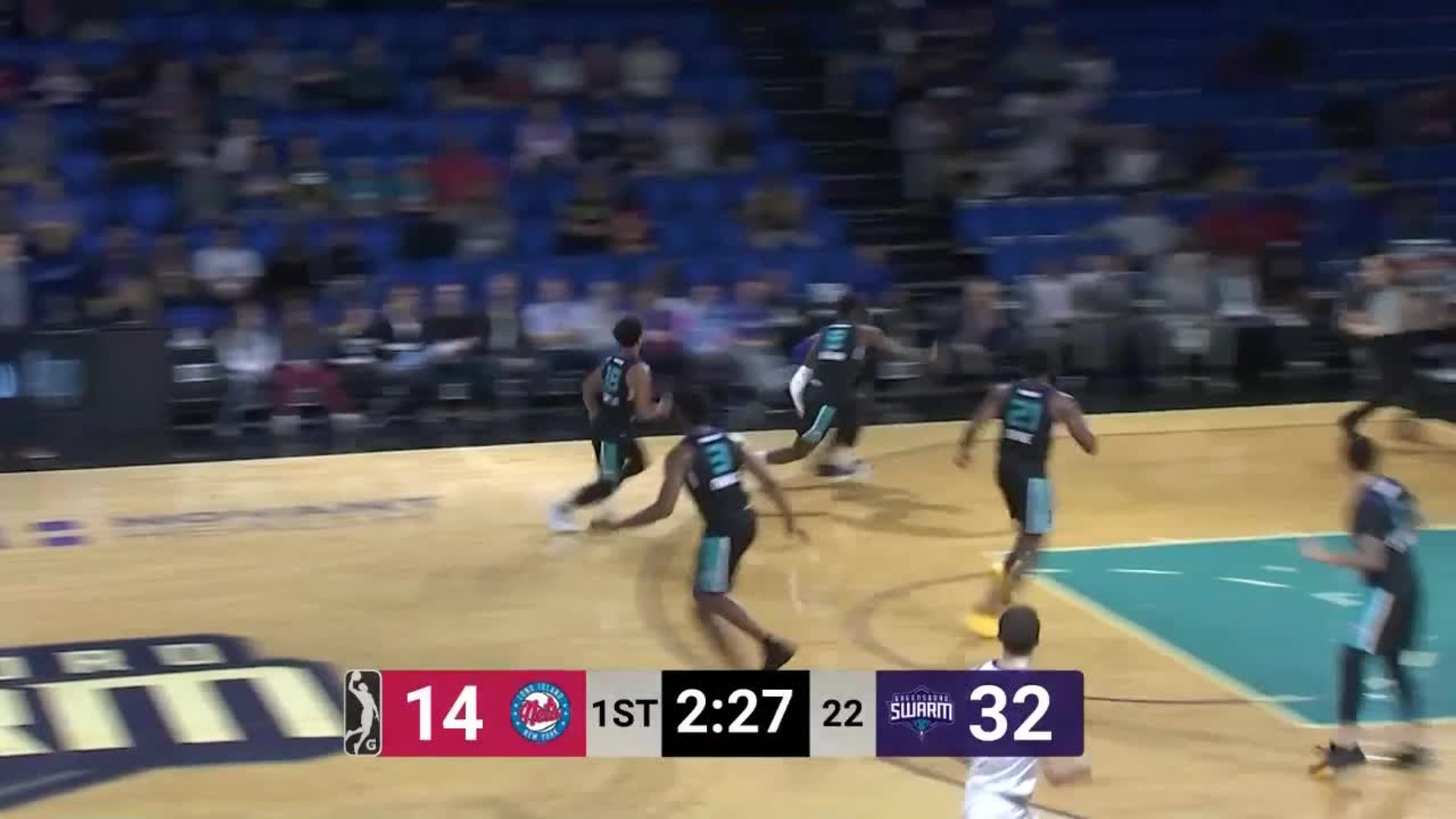 Ismael Sanogo (15 points) Highlights vs. Greensboro Swarm