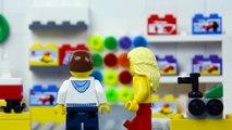 LEGO City Christmas Santa Fail STOP MOTION LEGO Billy Bricks Saves Christmas? - LEGO - Billy Bricks