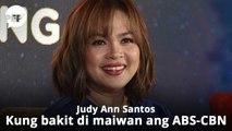 Ito kaya ang dahilan kung bakit hindi maiwan ni Judy Ann Santos ang ABS-CBN?