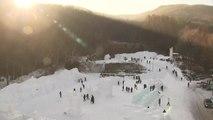 태백산 눈 축제 개막...'추위 실종'에 일부 차질 / YTN