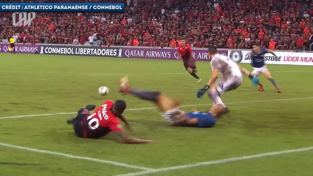 Bruno Guimaraes décisif en Copa Libertadores avec l'Athletico Paranaense