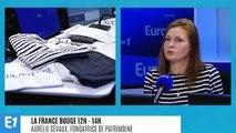 """La France bouge : Aurélie Sévaux, fondatrice de """"Patrimoine"""", ligne de vêtements homme et femme, 100% bio, qui propose des produits intemporels"""
