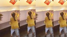 Mira Rajput & Shahid Kapoor's daughter Misha Kapoor flies Kite on Makar Sankranti   FilmiBeat