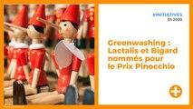 Greenwashing : Lactalis et Bigard nommés pour le Prix Pinocchio