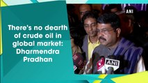 There's no dearth of crude oil in global market: Dharmendra Pradhan