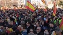 """Vox se manifiesta en Madrid para reclamar que el Gobierno """"respete la Constitución"""""""