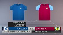 Match Review: Chelsea vs Burnley on 11/01/2020