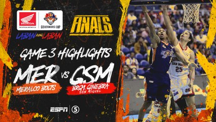 Highlights: G3: Meralco vs Ginebra | PBA Governors' Cup 2019 Finals