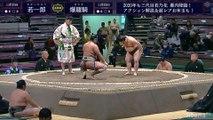 Wakaichiro vs Baraki - Hatsu 2020, Sandanme - Day 1