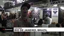 Thousands of tattoo enthusiasts attend Rio de Janeiro artist event