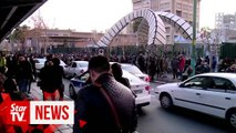 Protesters gather again in Iran, chant against authorities