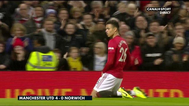Le résumé de Manchester United / Norwich