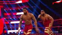 Viking Raiders vs Street Profits vs Gallows Anderson Raw Tag Title Match Raw Jan 6 2020