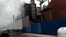 부안 알루미늄 공장 화재...9백여만 원 피해 / YTN
