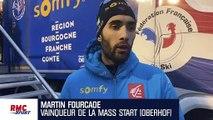 """Biathlon : """"Très heureux d'avoir pris mes responsabilités"""" confie Fourcade"""