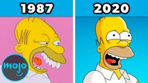 The Evolution of The Simpsons