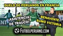 MIGUEL TRAUCO: ASISTENCIA Y DERROTA 2-0 FRENTE AL NANTES FC DE CRISTIAN BENAVENTE POR LA LIGUE 1 DE FRANCIA