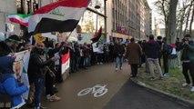 Une centaine de personnes dénoncent à Bruxelles la frappe américaine en Irak