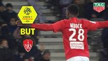 But Hianga'a MBOCK (79ème) / Toulouse FC - Stade Brestois 29 - (2-5) - (TFC-BREST) / 2019-20