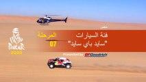 داكار 2020 - المرحلة 7 (Riyadh / Wadi Al-Dawasir) - ملخص فئة السيارات  / سايد باي سايد