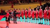 A Milli Kadın Voleybol Takımı'nın olimpiyatlara katılma hakkı kazanması