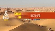 Dakar 2020 - Stage 7 (Riyadh / Wadi Al-Dawasir) - Bike/Quad Summary