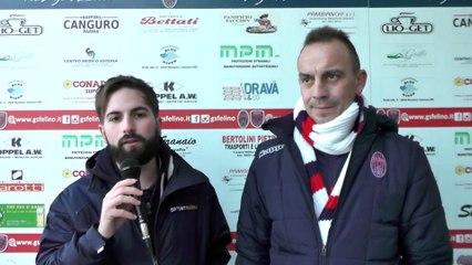 Felino - Castelvetro 1-3, highlights e interviste
