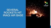 Several Rockets Hit Iraqi Air Base