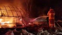 사슴벌레 농장에서 불...8천여만 원 피해 / YTN