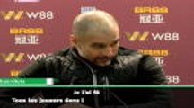 "22e j. - Guardiola : ""Agüero mourra en marquant des buts"""