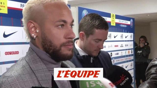 Neymar «Pas notre meilleur match» - Foot - L1 - PSG