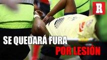 Renato Ibarra se lesionó y será baja por tres meses