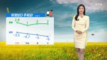 [날씨] 출근길 뚝 떨어진 기온...공기질은 깨끗 / YTN