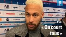 Neymar : « Peu importe la tactique, on se dévoue pour l'équipe »