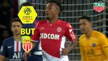 But Gelson MARTINS (7ème) / Paris Saint-Germain - AS Monaco - (3-3) - (PARIS-ASM) / 2019-20