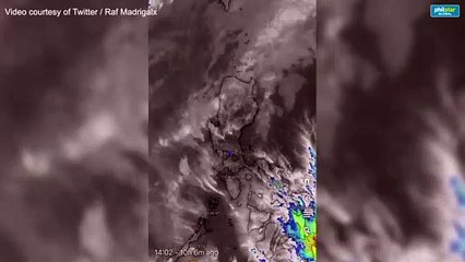 Movement of wind, ashfall from Taal Volcano's Sunday explosion