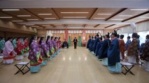 Japanese youths take part in ceremony ahead of Coming of Age Day
