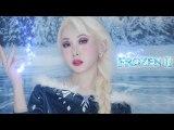 Frozen2 Elsa makeup tutorial❄️✨