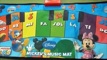 Review of Mickey's Music Piano Mat for Little Feet and Hands-
