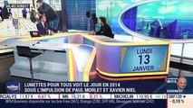 Paul Morlet (Lunettes Pour Tous) : Lunettes Pour Tous voit le jour en 2014 sous l'impulsion de Paul Morlet et Xavier Niel - 13/01