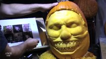 Twisty The Clown (American Horror Story) Pumpkin Carving - AWE me Artist Series