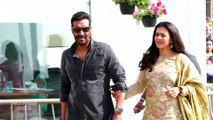 Ajay & Kajol Spotted During The Promotion Of Tanhaji The Unsung Warrior