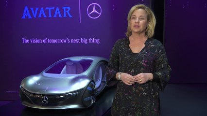 Mercedes-Benz at the CES 2020 - Interview Britta Seeger