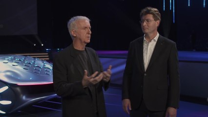 Mercedes-Benz VISION AVTR at the CES 2020 - Interview Ola Källenius and James Cameron